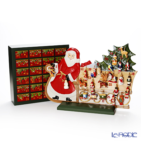 Villeroy & Boch Christmas Toys Memory Advent calendar Santa´s sledge 49x36cm 9596 [Limited in 2017]