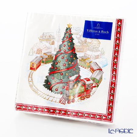 ビレロイ&ボッホ(Villeroy&Boch) クリスマススペシャル ナプキン トイズ/ツリー 25cm 20枚入 0095