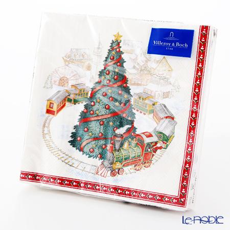 ビレロイ&ボッホ(Villeroy&Boch) クリスマススペシャル ナプキン トイズ/ツリー 33cm 20枚入 0092
