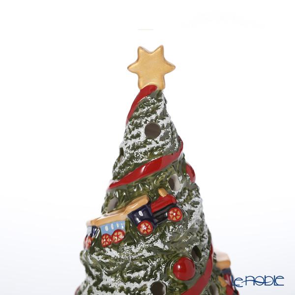 ビレロイ&ボッホ(Villeroy&Boch) ノースポールエクスプレスクリスマスツリー 20cm 6541 キャンドルホルダー