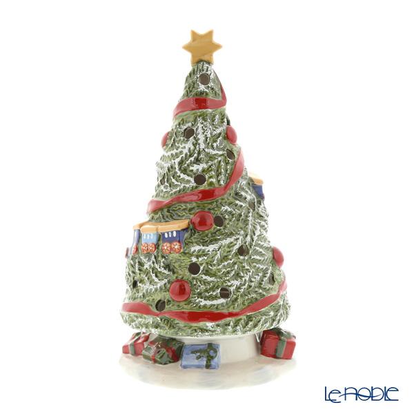 ビレロイ&ボッホ(Villeroy&Boch) ノースポールエクスプレス クリスマスツリー 20cm 6541 キャンドルホルダー