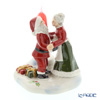 Villeroy & Boch North Pole Express Mr & Mrs Santa Clause (Candle Holder) 6542