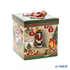 Villeroy & Boch 'Christmas Toys - Square Gift Box (Santa's Home / Tree)' 6621 Candle Holder with Music Box (Music : We Wish You A Merry Christmas) 15.5cm
