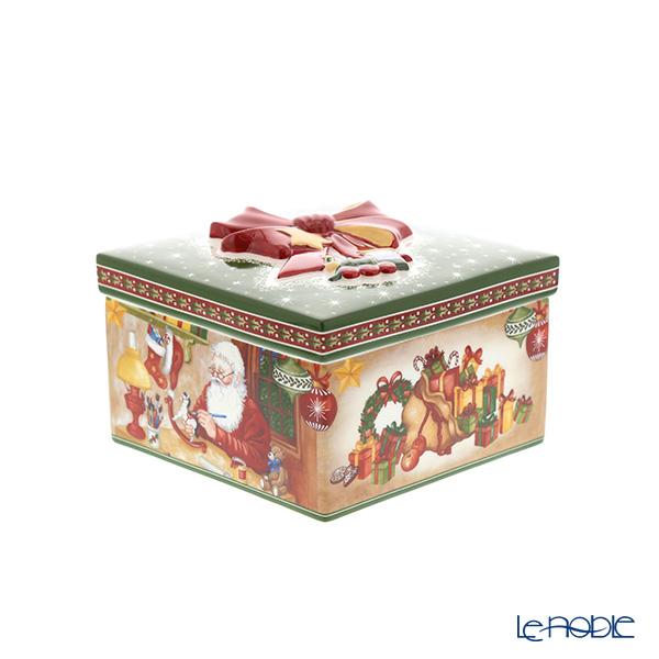 ビレロイ&ボッホ(Villeroy&Boch) クリスマストイズ サンタズワークショップ 13cm 6623 小物入れ