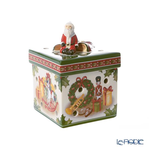 ビレロイ&ボッホ(Villeroy&Boch) クリスマストイズ トイズ(スクエア) 9cm 6625 キャンドルホルダー