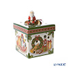 Villeroy & Boch 'Christmas Toys - Square Gift Box (Santa)' 6625 Candle Holder 8cm