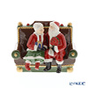 Villeroy & Boch 'Christmas Toys - Mr & Mrs Santa Sitting on the Sofa' 6628 Music Box 17.5x14xH14cm (music : We Wish You A Merry Christmas)