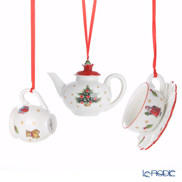Villeroy & Boch Nostalgic Ornaments 6668 Coffee Set set of 3pcs *