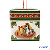 [Magnet] Villeroy & Boch 'My Christmas Tree - Christmas Dream' 6681 Square Box Ornament 6cm