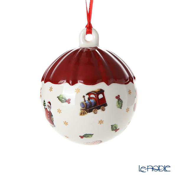 Villeroy & Boch 'Toy's Delight Decoration / Christmas' 6851 Ball Ornament 6.5cm
