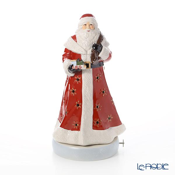 ビレロイ&ボッホ(Villeroy&Boch) クリスマストイズメモリーサンタクロース 45cm 6546 キャンドルホルダー オルゴール付