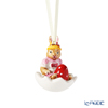 Villeroy & Boch 'Bunny Tails - Anna (Girl)' Pink Easter Ornament (Rabbit in Egg Shesll)