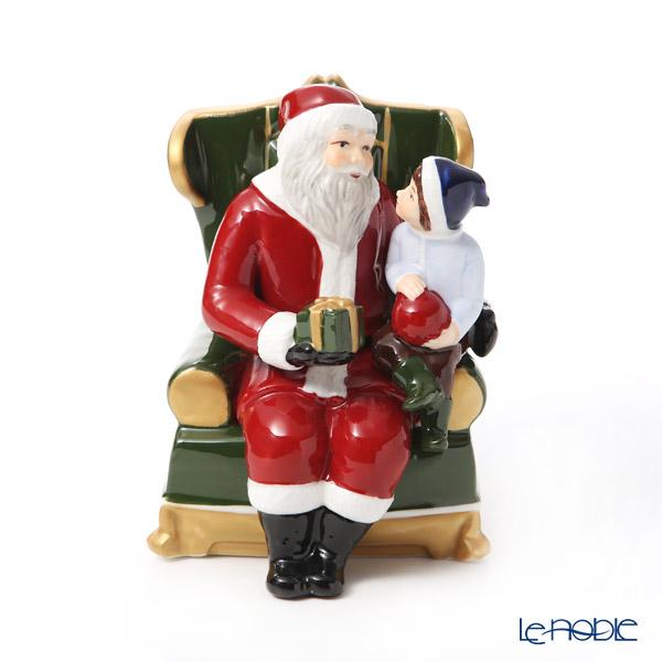 ビレロイ&ボッホ(Villeroy&Boch) クリスマストイズ オルゴール 椅子の上のサンタ 6636