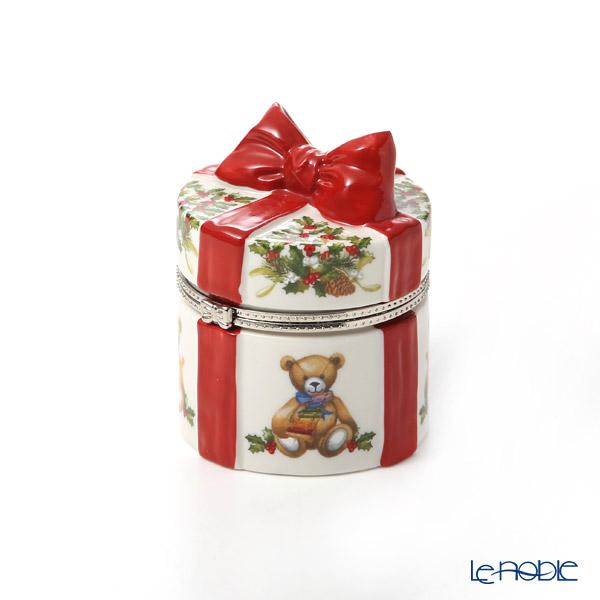 ビレロイ&ボッホ(Villeroy&Boch) クリスマストイズ ギフトボックス(ラウンド) 8cm 6637