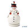 Villeroy & Boch 'Nostalgic Melody - Snowman / Christmas' 6303 Rotating Music Box H15cm (Music : Jingle Bells)