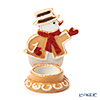 Villeroy & Boch 'Winter Bakery Decoration - Gingerbread Snowman / Christmas' 6587 Tea Light Candle Holder H12cm