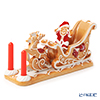 Villeroy & Boch 'Winter Bakery Decoration - Gingerbread Santa Sleigh / Christmas' 6588 Tea Light Candle Holder H11.5cm