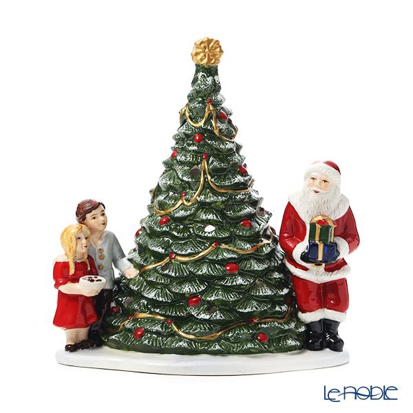 ビレロイ&ボッホ(Villeroy&Boch)クリスマストイズサンタウィズチルドレン 6641 キャンドルホルダー