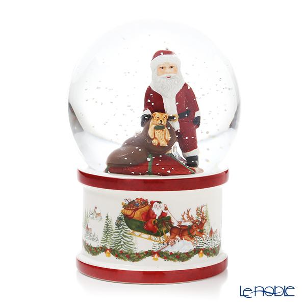 ビレロイ&ボッホ(Villeroy&Boch) クリスマストイズ スノードーム(L) 17cm 6642