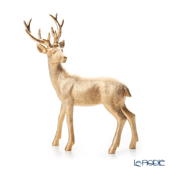 ビレロイ&ボッホ(Villeroy&Boch) クリスマストイズ シカ ゴールド 22cm 0007ポリレジン製(プラスチック素材)