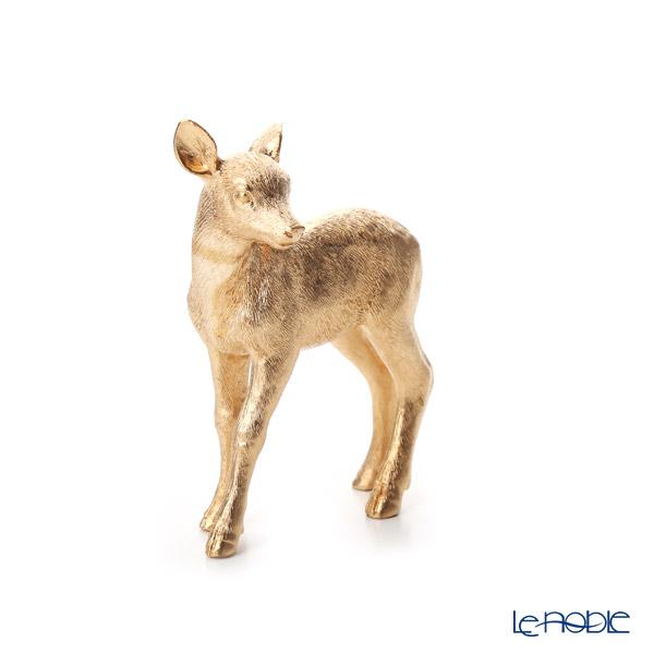 ビレロイ&ボッホ(Villeroy&Boch) クリスマストイズコジカ ゴールド 12cm 0008 ポリレジン製(プラスチック素材)