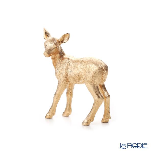 ビレロイ&ボッホ(Villeroy&Boch) クリスマストイズ コジカ ゴールド 12cm 0008 ポリレジン製(プラスチック素材)
