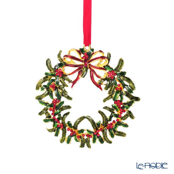 ビレロイ&ボッホ(Villeroy&Boch) クリスマストイズ オーナメント クリスマスリース 12cm 0028 メタル製