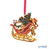 Villeroy & Boch 'Christmas Toys' 0029 [Metal] Sleigh & Tree Ornament 10cm