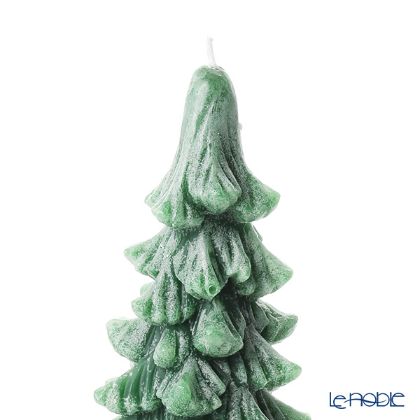 Villeroy & Boch 'Christmas Toys - Tree' Green 0053 [Wax] Candle H19cm (M)