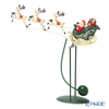 Villeroy & Boch 'Winter Collage Accessories - Swing Sledge' 0058 Christmas Santa & Reindeer Object H45cm