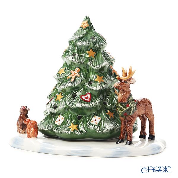 ビレロイ&ボッホ(Villeroy&Boch)クリスマストイズ ティーライトホルダー クリスマスツリーと森の仲間たち 6648 キャンドルホルダー