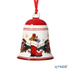 Villeroy & Boch 'My Christmas Tree - Forest Animals (Robin Bird, Squirrel, Boots)' Red 6867 Ornament Bell H7cm