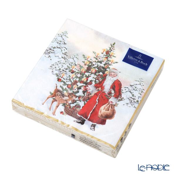 ビレロイ&ボッホ(Villeroy&Boch) ウィンタースペシャル紙ナプキン サンタクロース 33cm 20枚入 0145