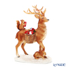 Villeroy & Boch 'Winter Collage Accessories - Deer with Gifts (Rabbit)' 0062 [Plastic] Christmas Object H20cm