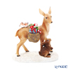 Villeroy & Boch 'Winter Collage Accessories - Deer with Forest Animals' 0063 [Plastic] Christmas Object H13.5cm