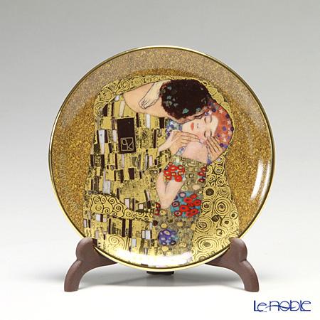 ゲーベル(GOEBEL) クリムト 接吻 66512195 ミニプレート 10cm(飾り皿) 【プレート立て付】