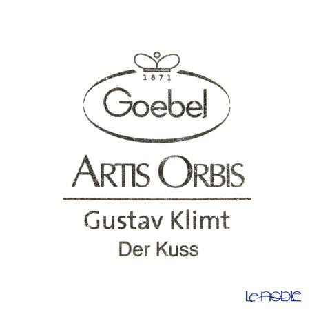 ゲーベル(GOEBEL) クリムト 接吻 66534637陶板 額付 16×19.5cm