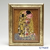 Goebel 'Gustav Klimt - The Kiss' Porcelain Plaque