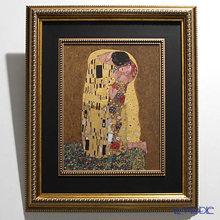 ゲーベル(GOEBEL) クリムト 接吻 66517202陶板 額付 60.5×53cm