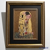 Göbel (Goebel) Klimt Kiss 66517202 Ceramic plate Frame 60.5x53cm