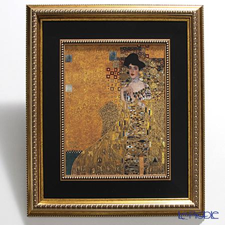 ゲーベル(GOEBEL) クリムト アデーレ 66534421陶板 額付 60.5×53cm