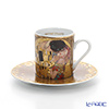 Goebel 'Gustav Klimt - The Kiss' Demitasse Cup & Saucer 100ml