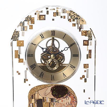 ゲーベル(GOEBEL) クリムト 接吻 66879826デスククロック(ガラス時計) H32cm