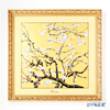 Goebel 'Vincent Van Gogh - Almond Tree' Gold Porcelain Plaque