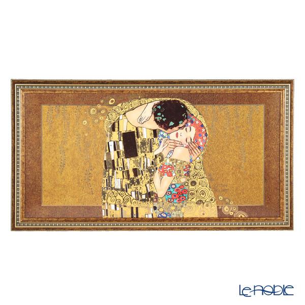 ゲーベル(GOEBEL) クリムト 接吻 66517261 陶板 額付 110×60cm [限定199]