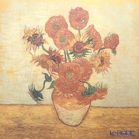 Goebel 'Vincent Van Gogh - Sunflowers'  Porcelain Plaque