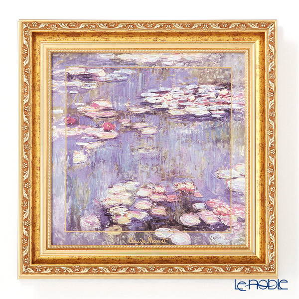 Goebel 'Claude Monet - Evening Flowers II' Porcelain Plaque