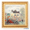 Goebel 'Claude Monet - The Artist's House' Porcelain Plaque