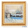Goebel 'Claude Monet - Winter Landscape' Porcelain Plaque