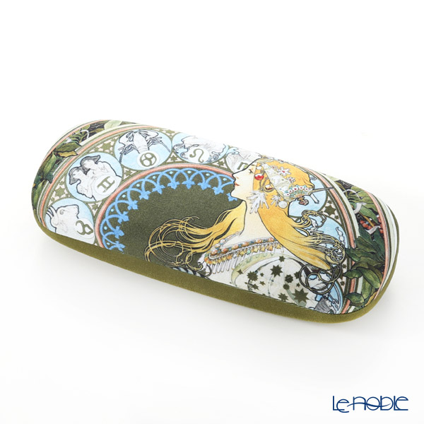 Goebel 'Alphonse Mucha - Zodiac' Spectacle Case with Lens Cloth